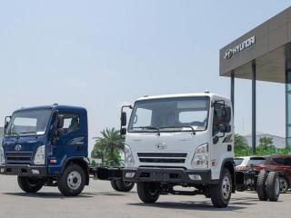 Xe Tải Hyundai 8 Tấn EX8 - Hyundai EX8 Thùng 5M7