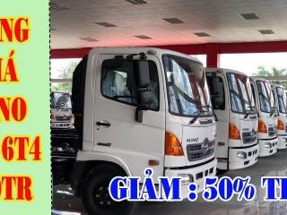 Giá Xe Tải Hino 6 Tấn 4 - Bảng giá xe tải Hino 6.4 Tấn Chassi