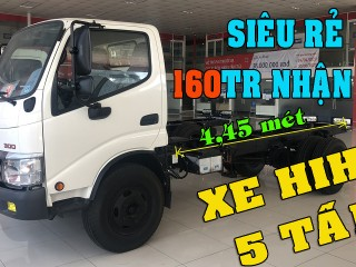 Xe Tải Hino Dutro 5 Tấn - Dutro 300 Thùng 4M4 XZU342HD