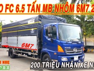 Giá xe tải Hino 6 tấn 4 Lăn Bánh - Xe Tải Hino 6 Tấn Rưỡi FC9JLTC